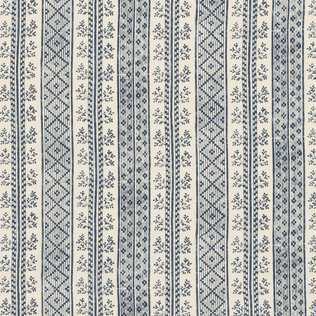 Jasper Fabrics in Dutch Stripe - Porcelain