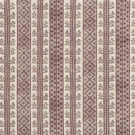 Jasper Fabrics inDutch Stripe - Rust