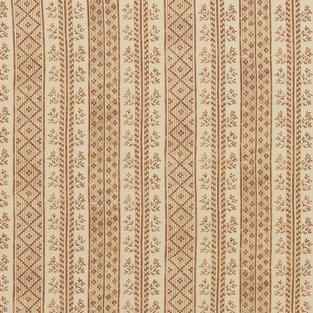 Jasper Fabrics in Dutch Stripe - Saffron on Light Tea Stain