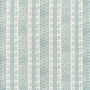 Jasper Fabrics in Dutch Stripe - Oasis Teal