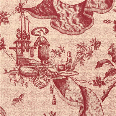 Jp 7181 chinese toile red tea