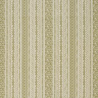 Jasper Fabrics inTulum Stripe - Olive