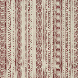 Jasper Fabrics in Tulum Stripe - Red