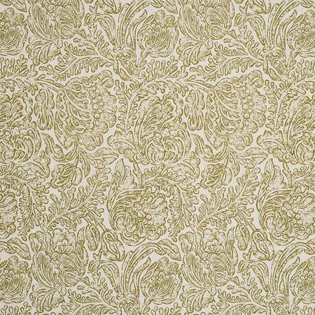 Jasper Fabrics inWoodblock Flower- Olive