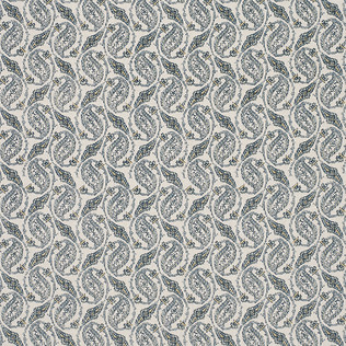 Jasper Fabrics in Gainsborough Paisley - River