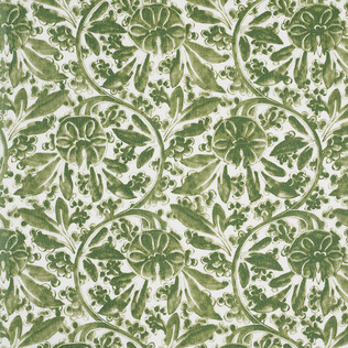 Jasper Fabrics inPagoda Vine - Green
