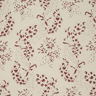 Jasper Fabrics inMinterne Garden - Red