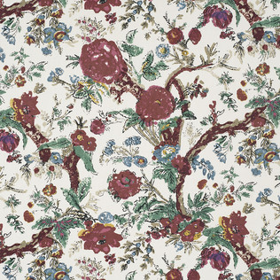 Jasper Fabrics inBangalore Floral - Red