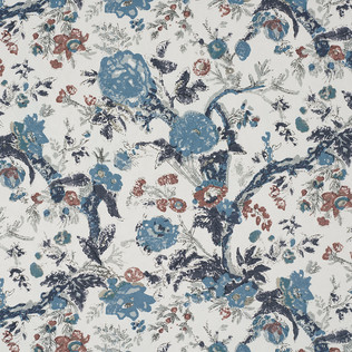 Jasper Fabrics inBangalore Floral - Blue