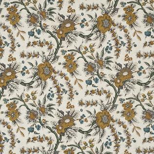 Jasper Fabrics inSintra Floral - Saffron