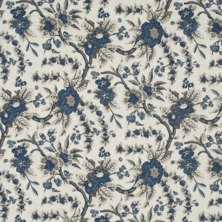 Jasper Fabrics inSintra Floral - Indigo