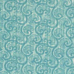 Jasper Fabrics inCoquina - Turquoise