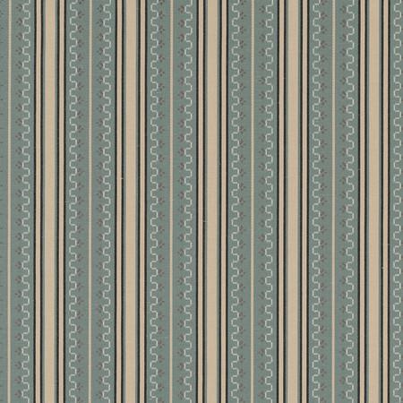 Jasper Fabrics inChilcoat Stripe - Teal