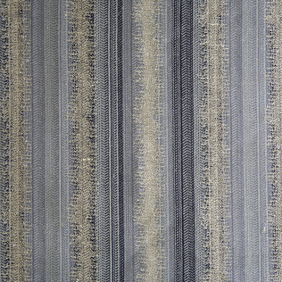 Jasper Fabrics inGroussay Stripe - Blue
