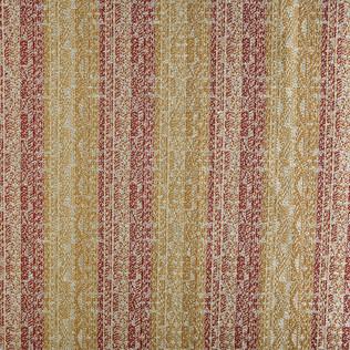 Jasper Fabrics Montpelier - Red/Saffron