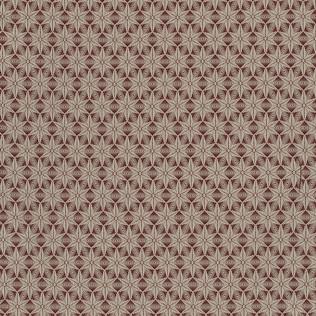 Templeton Fabric inPolaris - Brick Red