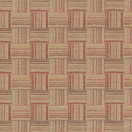 Templeton Fabric in Asera - Red/Saffron