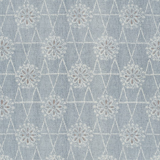 Templeton Fabric inToji - Blue/Coral