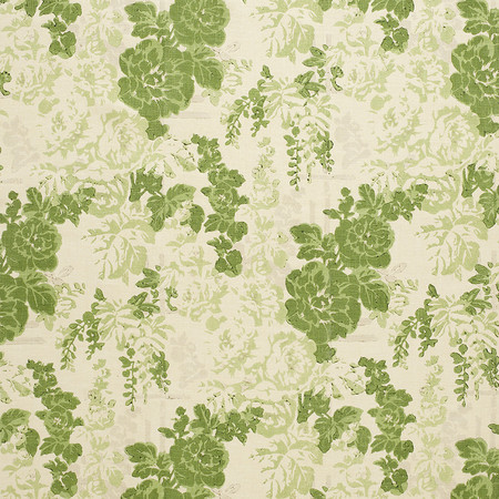 Templeton Fabric inDarby Rose - Green