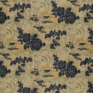 Templeton Fabric inDarby Rose - Indigo