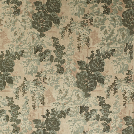 Templeton Fabric in Darby Rose - Blue