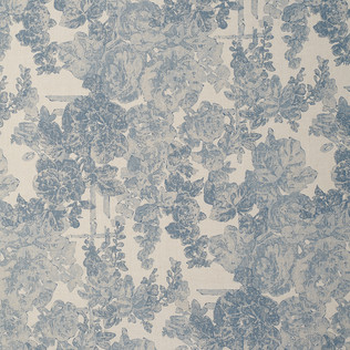 Templeton Fabric inDarby Rose - Swiss Blue