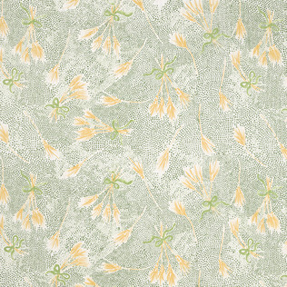 Konstantin Kakanias for Templeton Fabric in Fortuna - Evergreen/Wheat