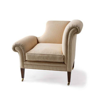 Jasper Furniture DROPPED-ARM CHAIR