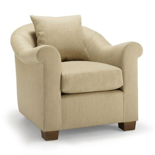 Jasper Furniture RENE CHAIR - EXPOSED LEG
