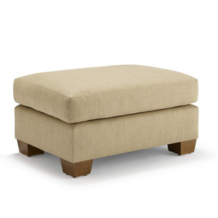 Jasper Furniture RENE OTTOMAN - EXPOSED LEG