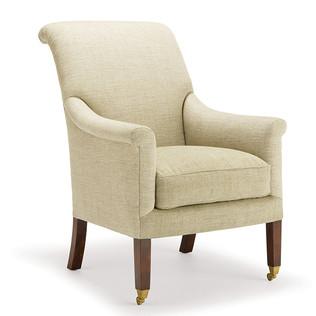Jasper Furniture HUNT CHAIR - LOOSE SEAT/EXPOSED LEG