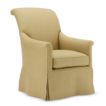 Jasper Furniture HUNT CHAIR - LOOSE SEAT/SKIRT