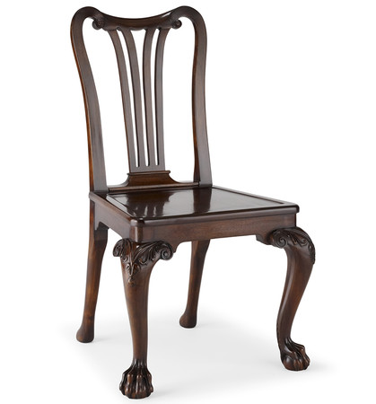 182 1 george ii mahogany side chair