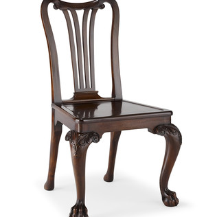 Jasper Furniture GEORGE II MAHOGANY SIDECHAIR