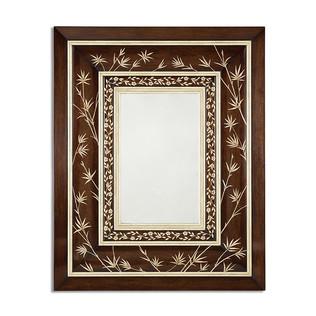Jasper Mirrors MAXWELL MIRROR - FAUX IVORY INLAY