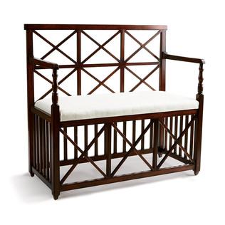 Jasper Furniture X-BACK BENCH