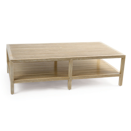 Jasper Furniture SLATTED SHIP COFFEE TABLE