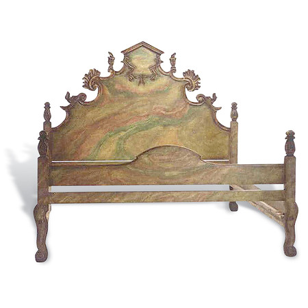 Jasper Furniture CARVED ITALIAN BED