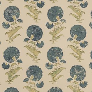 Jasper Wallcovering INDIAN FLOWER - BLUE