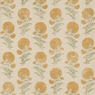 Jasper Wallcovering INDIAN FLOWER - SAFFRON
