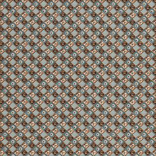 Jasper Wallcovering FRENCH TILE - BLUE