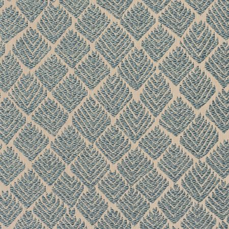 Indus weave   corsican blue