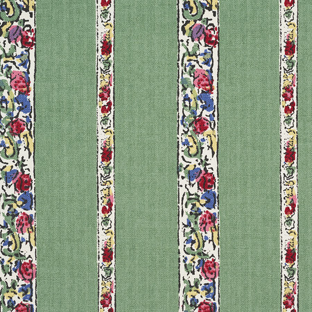 Jasper Fabrics inBangalore Stripe - Green