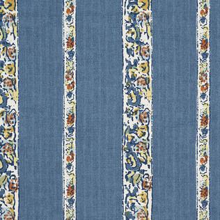 Jasper Fabrics inBangalore Stripe - Blue