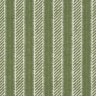 Jasper Fabrics inPont Stripe - Green