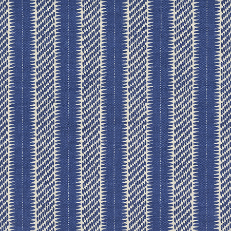 Jasper Fabrics inPont Stripe - Blue