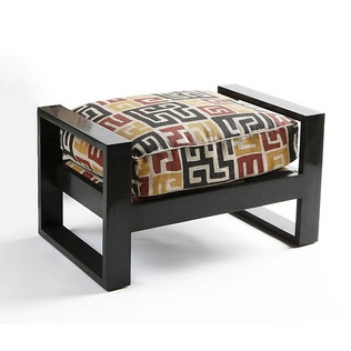 Jasper Furniture FRENCH ART DECO OTTOMAN - SMALL