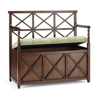 Jasper Furniture X-BACK BENCH - STORAGE