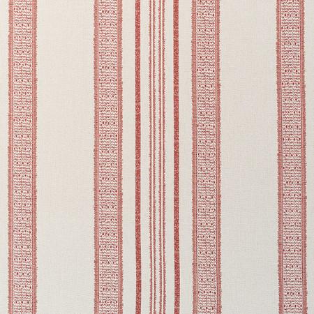 Jasper FabricsIndian Garden Stripe - Red