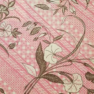 Jasper Fabrics inJava Stripe - Pink/Brown
